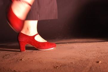 chauss rouge c