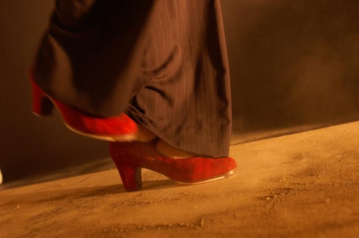 chauss rouge e